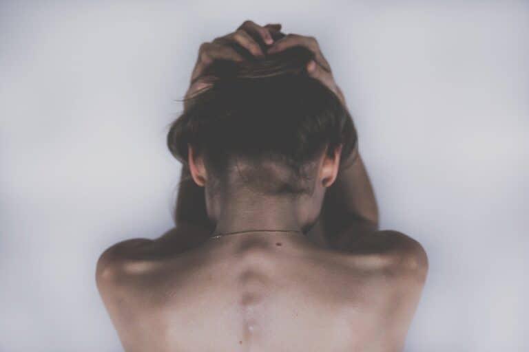 woman, sad, depression